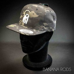 Casquette Banana Rods - Camouflage - Visière Plate