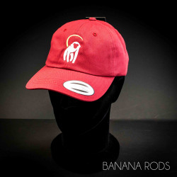 Banana Rods Cap - Cranberry