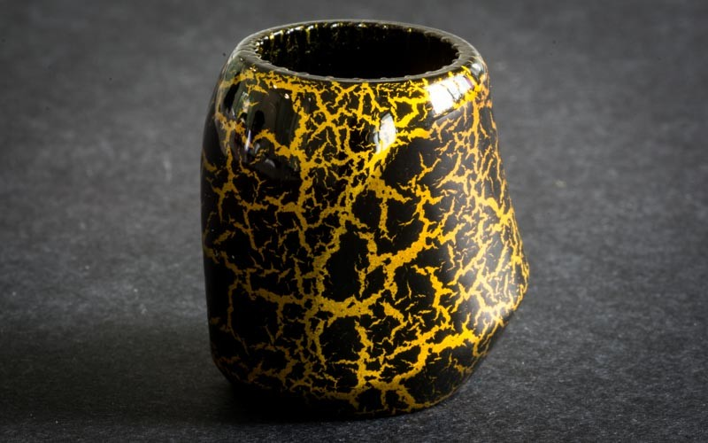 Cracked Gold/Black