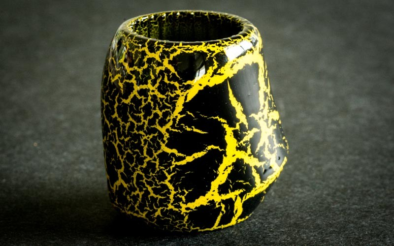 Cracked Black/Yellow
